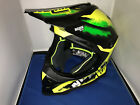 NOLAN N53 LAZY BOY YELLOW MOTOR CROSS HELMET