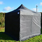 3m x 3m Black Heavy Duty SHOWSTYLE Commercial Grade Gazebo, Market Stall, Pop Up