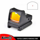 Aim-O Airsoft Pistol Red Dot Scope Red Dot Sight Shatterproof with RIS RMR Mount