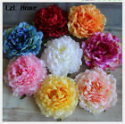 Wholesale Red Large Artificial Peony Silk Flowers Heads DIY Wedding Accessories