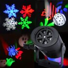 Outdoor Landscape Moving Snowflake LED Laser Light Projector Christmas Xmas Lamp