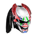 Predator Clown DOT motorcycle helmet ( Size in description) 1