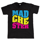 Madchester Mens Manchester Music Scene T Shirt - Gift for Dad Him