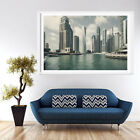 City Building Modern Painting Picture Canvas Wall Art Oil Poster Home Decor