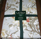 Ralph Lauren ARIA FLORAL GREY Tan, Rust, Taupe Tablecloths, Runner or Napkins