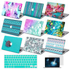 "Mint Pattern Prints Hard Case+Key Cover For Macbook Pro Air 11 13""15"" Retina 12"""