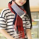 Women Fashion Soft Plaid Tassel Big Grid Long Shawl Blanket Scarves TXSU