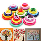 100pcs Resin 4-holes Mixed-color Round Buttons Sewing on DIY Craft scrapbooking