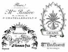Vintage French Advertising Labels Furniture Transfers Waterslide Decals MIS589