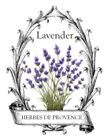 Vintage French Provence Lavender Furniture Transfers Waterslide Decals MIS595