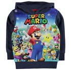 NINTENDO MARIO:2017 HOODY ,3/4,4/5,5/6,7/8,9/10,11/12,13YR,NEW WITH TAGS