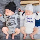 Newborn Toddler Baby Girl Boy Clothes Bodysuit Romper Jumpsuit Playsuit Outfits