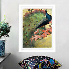 Peacock Painting Wall Art Oil Picture Canvas Prints Home Decor Posters Unframed