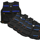 1-20pcs Tactical Vest Jacket Pockets Kids Gun Dart For Nerf N-Strike Elite Game