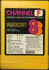 VIDEOCART  FAIRCHILD CHANNEL F VIDEOCARTS FREE SHIPPING Game Clean