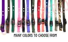"Sparky PetCo 3/4"" Heavy Duty Nylon 2 Hole 1.25"" Dog Replacement Strap- 10 Colors"