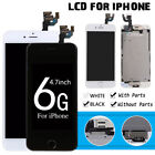 """4.7"""" For iPhone 6 Replacement LCD Touch Screen Digitizer & Home Button & Camera"""