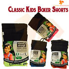 NEW 6 12 Pack Boys Kids Classic SOFT NEON BOXER SHORTS Easy Wear Age 6 -13 Years