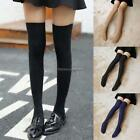 New Girls Women Thigh High Over the Knee Socks Long Knit Cotton NC89