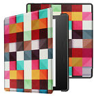"""Case Cover Fr Amazon Kindle Oasis E-reader 7"""" 9th Gen 2017 Smart Pattern Leather"""