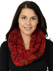 Light Weight Thick Knit Crochet Infinity Scarf Ladies Women Circle Loop Fashion