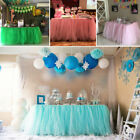 Tulle TUTU Table Skirt Cover Birthday Wedding Festive Party