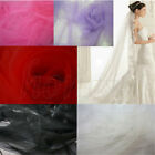 2Yards Nylon Soft Embroidery Mesh Wedding Dress Cloth DIY Sewing Craft New