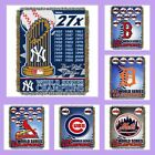 MLB Licensed Commemorative Tapestry Afghan Throw Blanket - Choose Your Team on Ebay