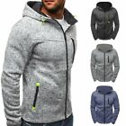 New Mens Outwear Sweater Winter Hoodie Warm Coats Jacket Slim Hooded Sweatshirt