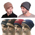 Men Women Winter Knitted Crochet Slouch Ski Cap Beanie Knitting Wool Warm Hat