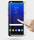 Tempered Glass Screen ProtectIve 3D Case friendly for Samsung Galaxy S8 Note8 hi