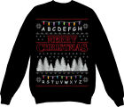 Merry Christmas Sweater Top Jumper Sweatshirt Xmas Ugly Funny Stranger Things
