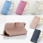 Luxury Leather Folding Folio Stand Wallet Case Cover For iPhone 6 6s 7 8 Plus us