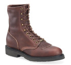 Double H Mens 8 Lacer Black Walnut Leather EH Rated Boot 9714