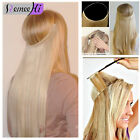 """16""""-24"""" Invisible wire 100% Remy Hair Extension Wire in Remy Extension one piece"""