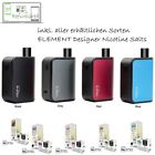 aspire Gusto Mini E-Zigarette Starterset powered by ELEMENT Ns20 + 5 x Pack PODS