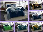 NFL Licensed 3 Piece King Comforter & Sham Bed Set In A Bag - Choose Your Team