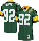Reggie White 92 Green Bay Packers Mens Green Retired Player Throwback Jersey