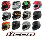 ICON Airmada (All Graphics) Sportbike Motorcycle Helmet - Pick Size Color