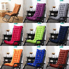 Newly Deck Chair Cushion Comfy Patio Backyard Garden Seat Pad Tufted Mattress