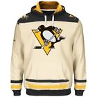 Pittsburgh Penguins Majestic DOUBLE MINOR Mens Hooded Pullover Sweatshirt XL, 2X