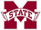 Mississippi State University Bulldogs NCAA Color Die Cut Vinyl Decal / Sticker