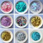Внешний вид - 4000pcs 4mm Round Loose Sequins Paillettes Clothes Sewing Wedding DIY Craft