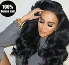 360 Lace Wig Pre Plucked Brazilian Virgin Remy Human Hair Wigs and Lace Closures
