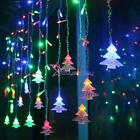 re string lights - 3.5m 96 LED Christmas Snowflake Fairy String Lights Wedding Party Curtain Decor