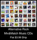 Alternative Rock(20) - Mix&Match Music CDs - $3.99 flat ship