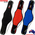 """Weight Lifting Dipping Dip Belt Gym Fitness 8"""" Wide Neoprene Metal Chain DBX"""