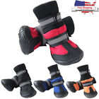 Pet Supplies - 4PCS Waterproof Pet Shoes Winter Anti-Slip Dog Cat Snow Boots Warm Puppy Booties