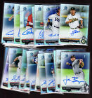 2017 BOWMAN DRAFT CHROME DRAFT PICKS REF AUTO: COMPLETE YOUR SET YOU PICK /499