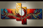 Framed Large Wall Art Handmade Canvas Modern Abstract Oil Painting Decor Abs032